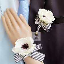 wrist corsage supplies handmade wedding supplies corsage groom boutonniere
