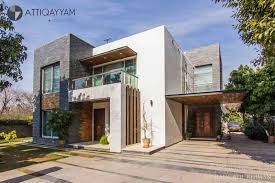 Home Exterior Design In Pakistan Contemporary Residence At F7 Islamabad By Atti Qayyam Associates
