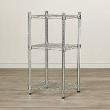 Metal Wire Shelving by 3 Tier Wire Shelving Rack Metal Shelf Adjustable Unit Storage