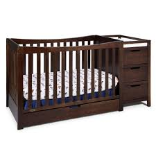 Graco Baby Doll Furniture Sets by Graco Remi 4 In 1 Convertible Crib And Changer In Espresso Free