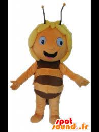 maya bee mascot cartoon character spotsound
