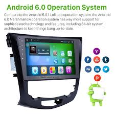 nissan qashqai map update inch android 6 0 radio for 2014 2015 nissan qashqai x trail with