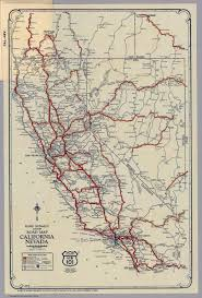 Nevada Map Rand Mcnally Junior Road Map California And Nevada David Rumsey
