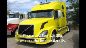 used volvo tractors for sale volvo trucks for sale 2009 volvo vnl 780 beautiful yellow youtube