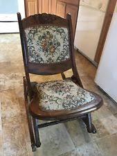 Antique Nursing Sewing Rocker Small Star Pattern Seat Rocking Chairs Victorian Antique Furniture Ebay