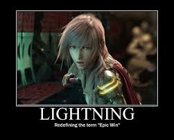 Epic Win Meme - ffxiii mp lightning epic win by arccrimsonhart on deviantart