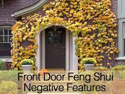 front door feng shui negative features youtube