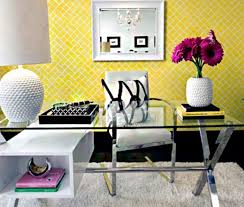 jeff lewis office design light the pop of color with black and
