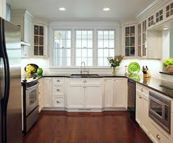 Brilliant Painted White Cabinets Painting Wood On Design - Painting old kitchen cabinets white