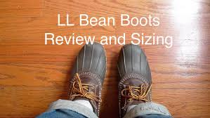 womens ll bean boots size 11 ll bean bean boots review and sizing