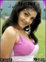 kajal name themes kajal babe mobile themes for samsung sgh i560