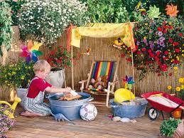 giardino bambini suggerimenti per un estate sicura con i bambini il network