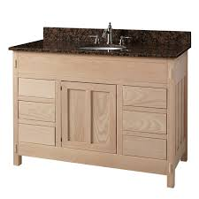 Narrow Bathroom Vanity by Nice Long Narrow Bathroom Vanities From Creamy Wood Cabinet And