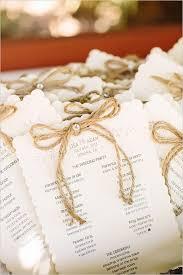 burlap wedding programs lavender burlap and twine wedding twine burlap and lavender