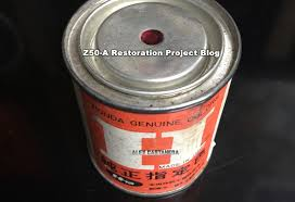 authentic oem original vintage honda paint z50 a mini trail