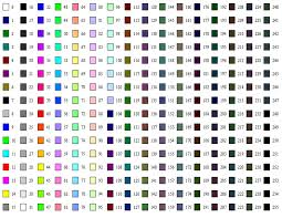 list of colours turing colours gif