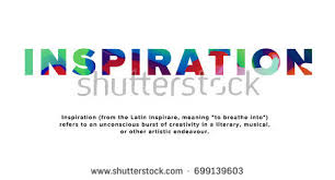 design definition in advertising word inspiration definition colorful paint texture stock vector