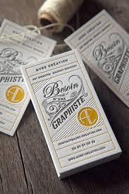 best 25 letterpress business cards ideas on