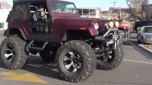 cj jeep lifted cj7 on 44