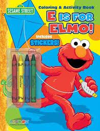 sesame street crayon coloring u0026 activity book bendon