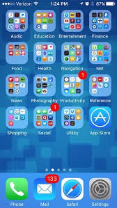 what s the best way to set up your home screen on an iphone 7 plus