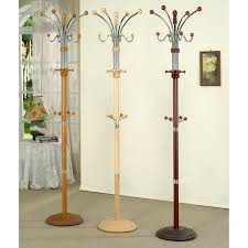 free standing coat rack with storage sting free standing coat rack