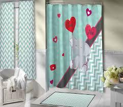elephant shower curtain home design by john