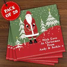 father christmas cards christmas lights decoration
