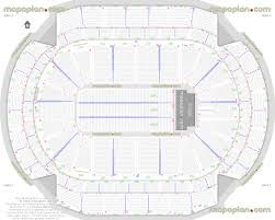 xcel energy center detailed seat u0026 row numbers end stage concert