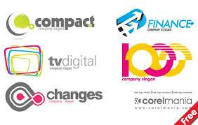 free logo company template free vector logo template