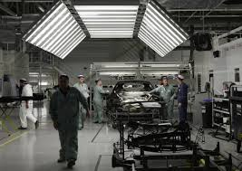 rolls royce factory rolls royce bentley jlr and aston martin paint supplier attracts