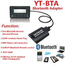 audi concert 2 aux input aliexpress com buy yatour car radios bluetooth aux interfaces