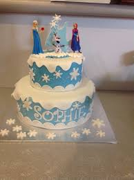 frozen coastal cake design