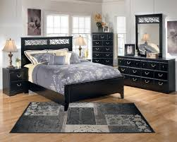 bedroom black bed frame with storage features black wooden