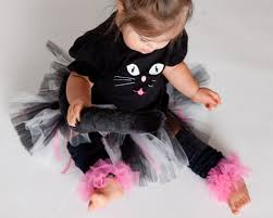 Halloween Kitty by Black Cat Kitty Tutu Halloween Costume