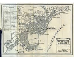 French Riviera Map Maps Of Monaco Detailed Map Of Monaco In English Tourist Map