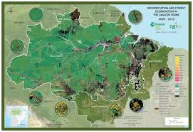 Agrarian Skies Map Imazon Mapping Change In The Amazon How Satellite Images Are