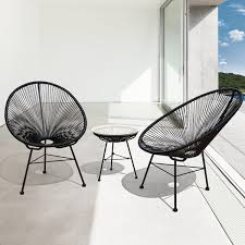 Wicker Patio Chair by Sarcelles Modern Wicker Patio Chairs By Corvus Set Of 2 Free