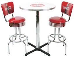 coca cola table and chairs diner tables chairs booths