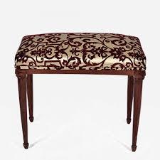 Bench Vanity French Art Deco Mahogany Bench U2013 Vanity Stool