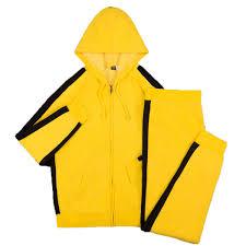 yellow black men u0027s warm up pants shop the bruce lee store
