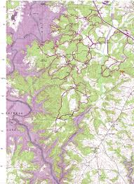 Green Ridge State Forest Map by Local Trails Upstate Sorba