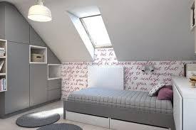 chambre enfant comble déco murale chambre enfant papier peint stickers peinture cosy