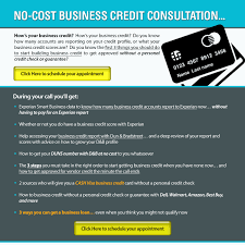No Credit Business Credit Card Free 30 Minute Business Credit Consultation