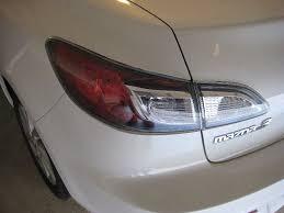 mazda 3 tail lights mazda mazda3 tail light assembly replacing brake turn signal