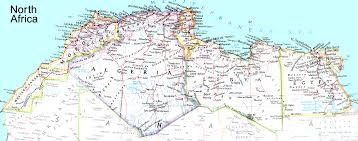 Morocco Africa Map by Geography African Cultural Center Usa