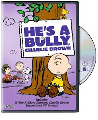 a charlie brown thanksgiving dvd he u0027s a bully charlie brown on dvd