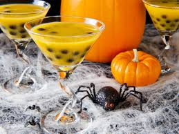 fruity martini recipes zombie slime shooters halloween cocktail recipe hgtv
