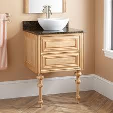 bathroom semi recessed vessel sink with bathroom sinks above