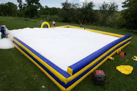 pit rental foam pit with foam machine foam party rentals jump